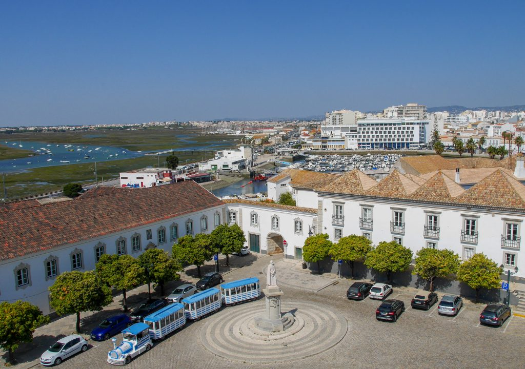 View from Faro's Cathedral.