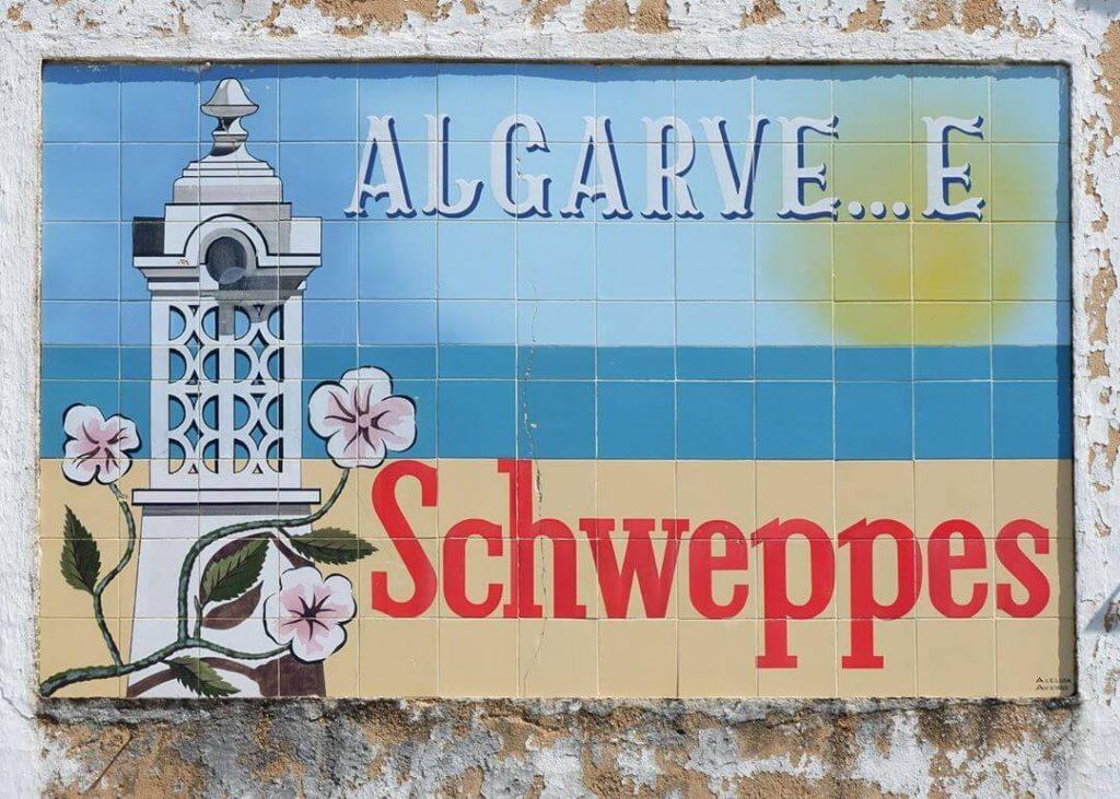ALternative Schweppes Sign