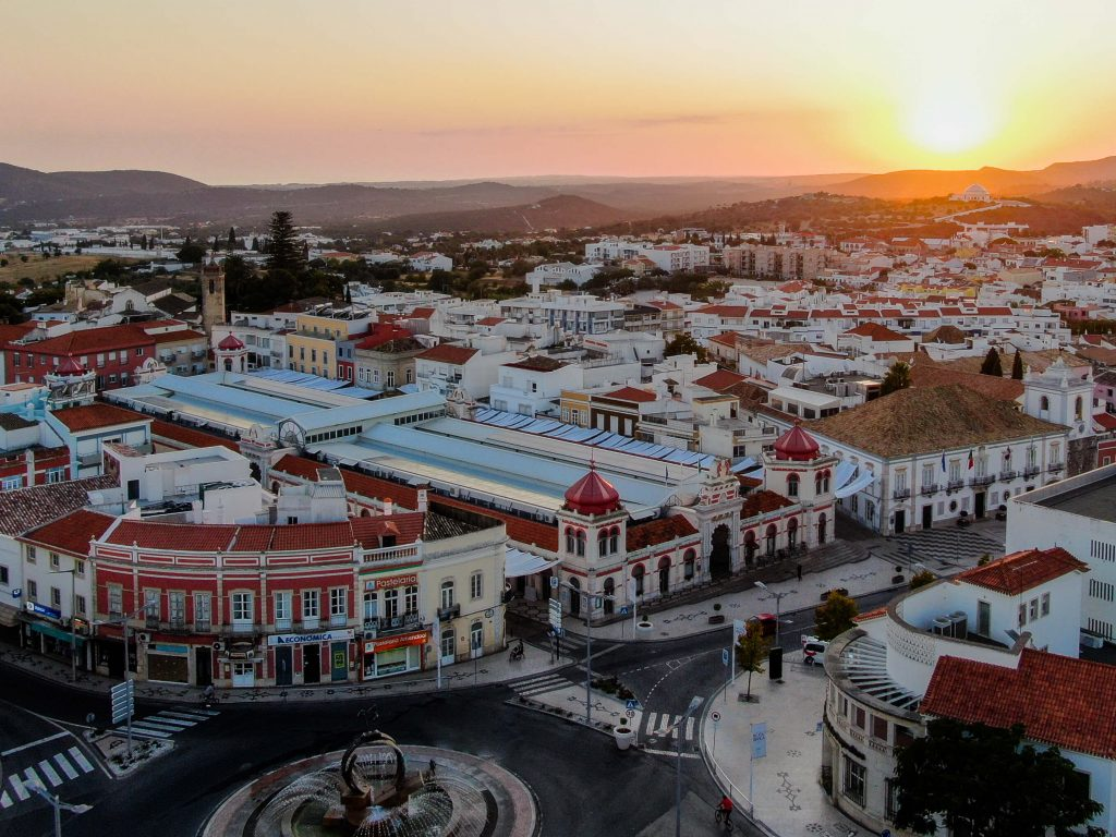 Loule - Aerial shot of Loulé