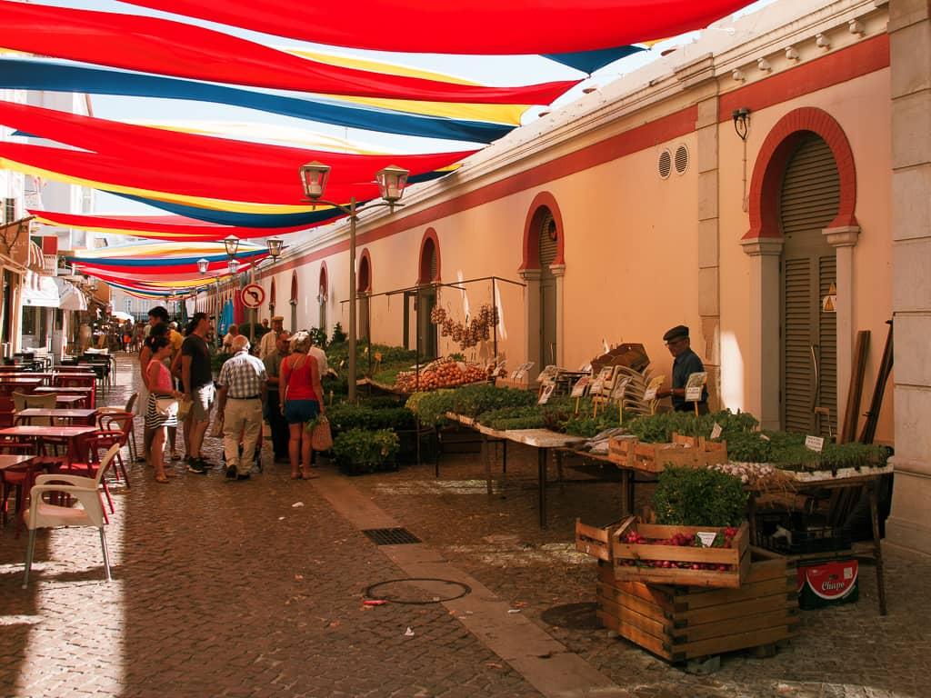 Farmers Market Loulé Portugal