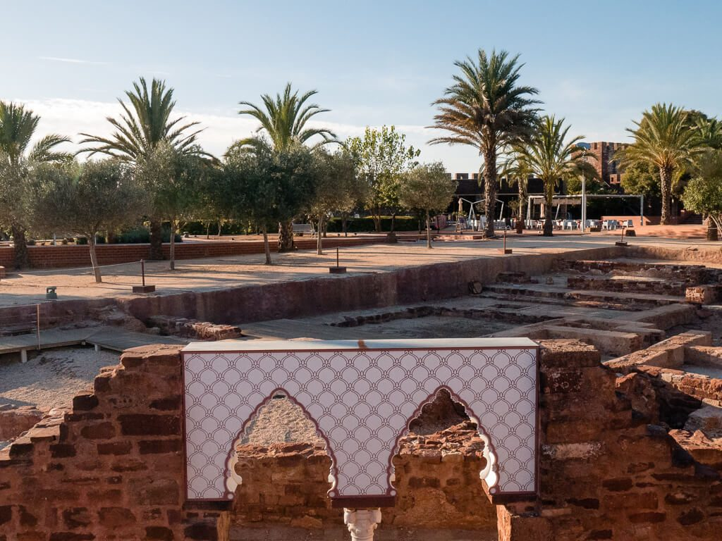 Inside the Castle of Silves