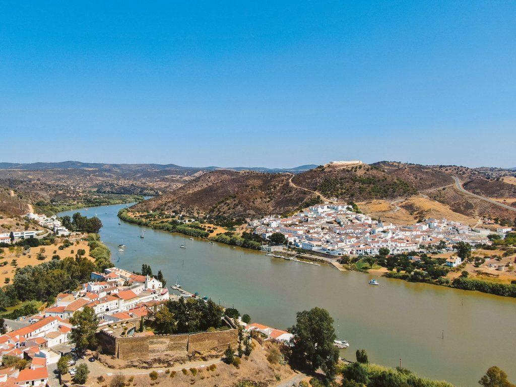 Alcoutim Portugal River