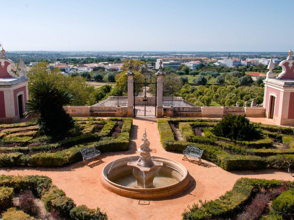 Estoi Palace Upper Garden