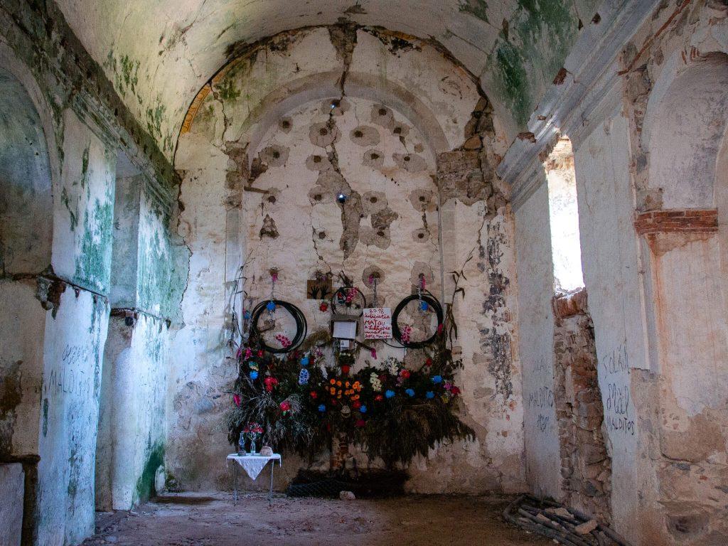 Monchique Convent Homemade Altar