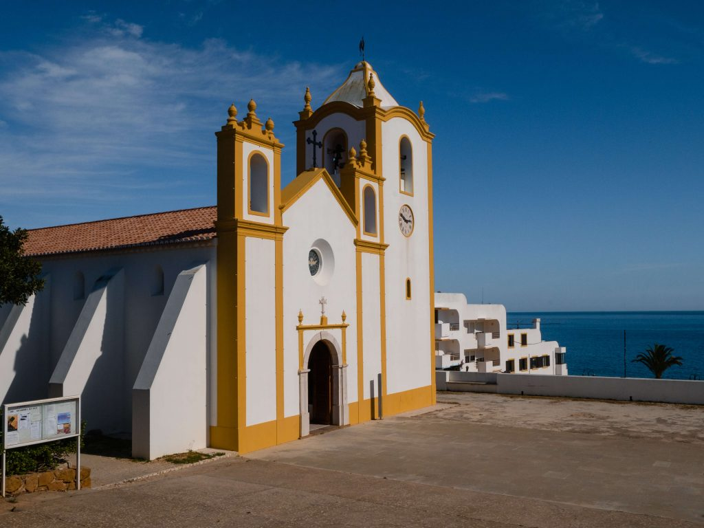 Praia da Luz Portugal Church