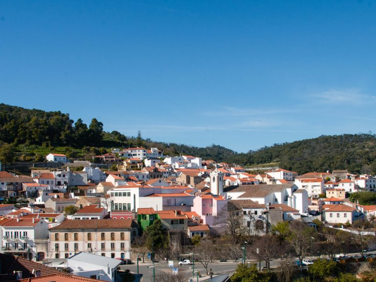 View of Monchique Portugal
