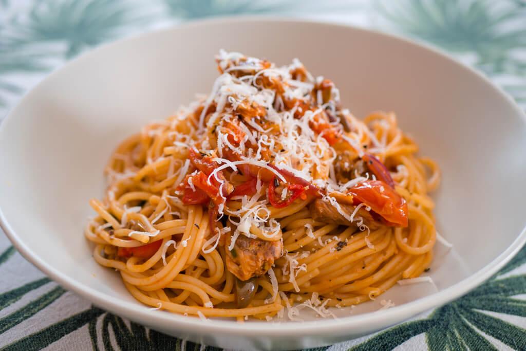 Sardine Pasta