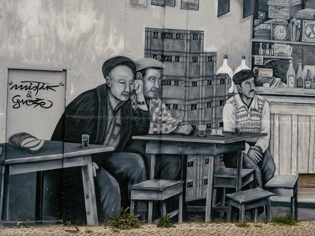 Mural Olhao
