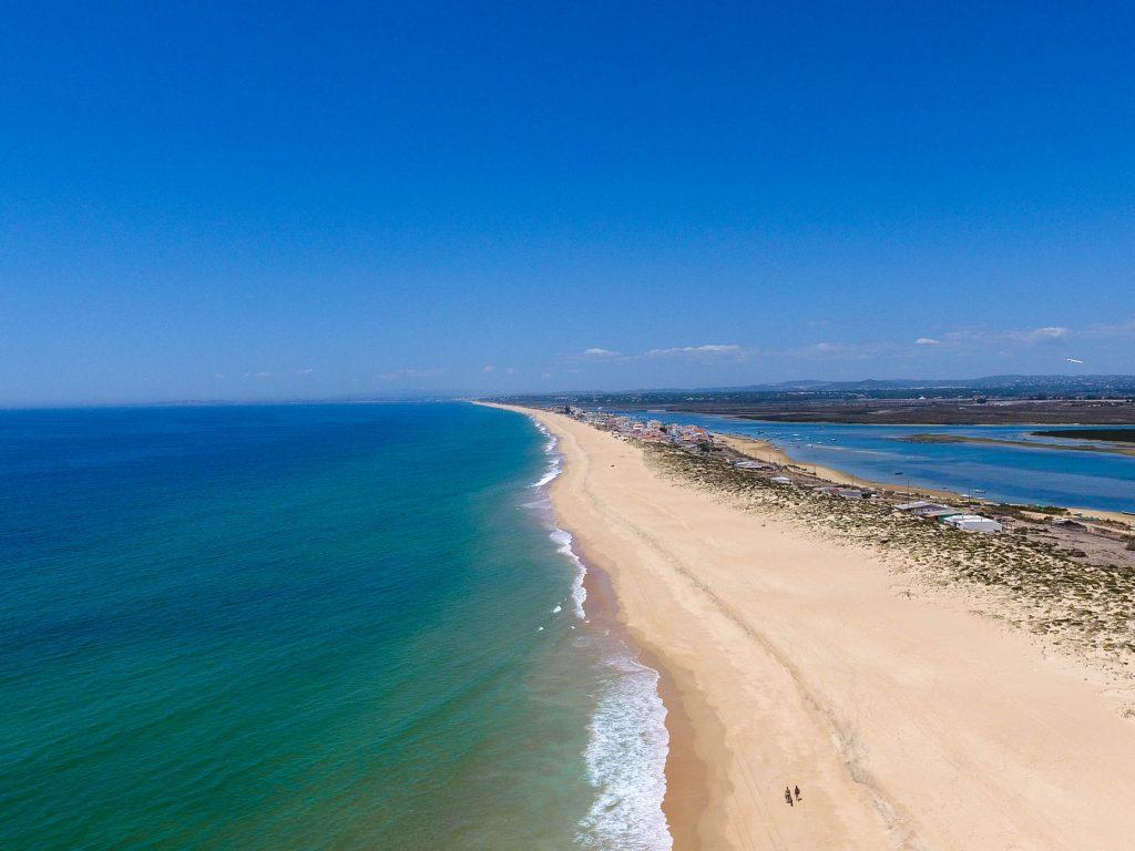 Praia de Faro, Portugal - Faro's Beach