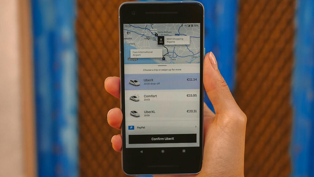 Book an Uber Trip Portugal