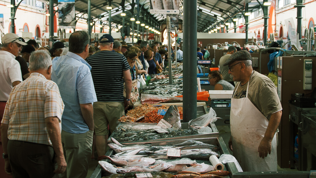 Fish Market Portugal