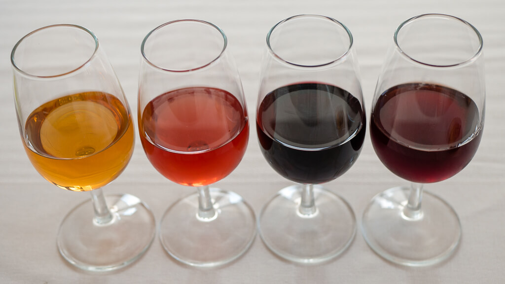 Types of Port Wine