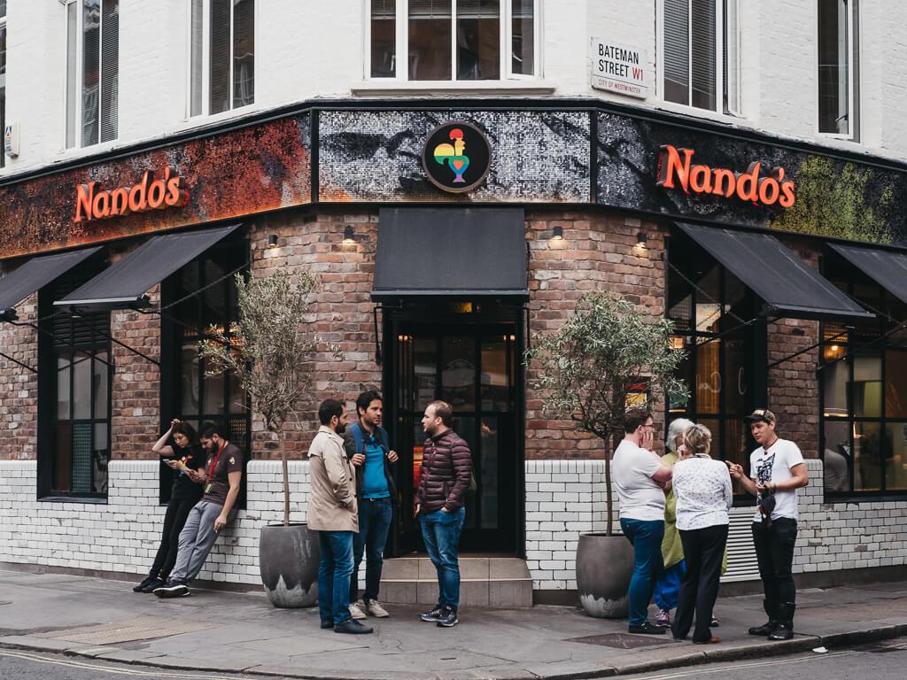 Is Nando's Portuguese?