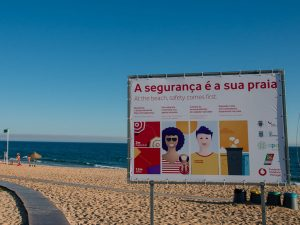 Coronavirus Algarve Sign