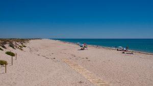 Deserted Praia da Culatra