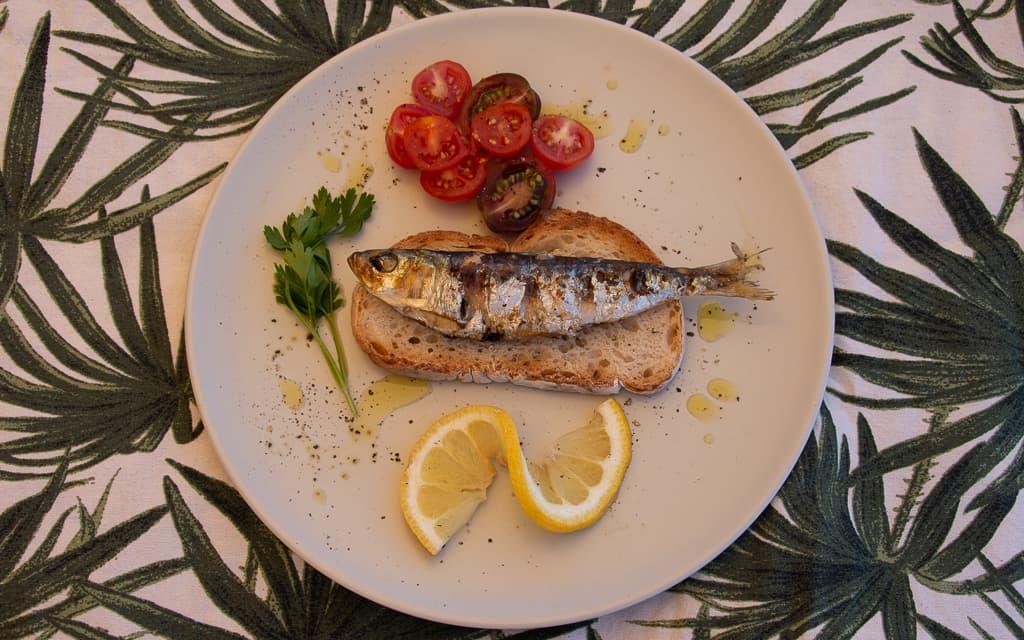 Portuguese Grilled Sardine