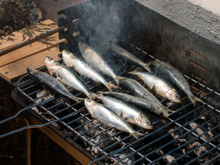 Grilled Sardines Portugal