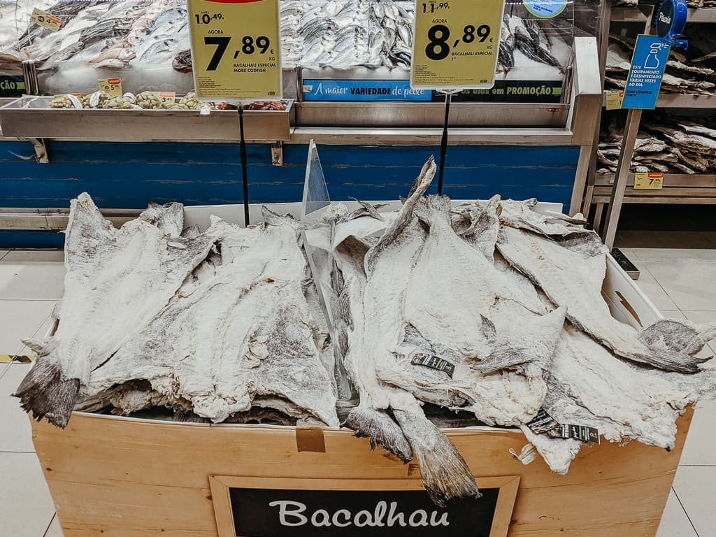 Bacalhau for Sale Portugal
