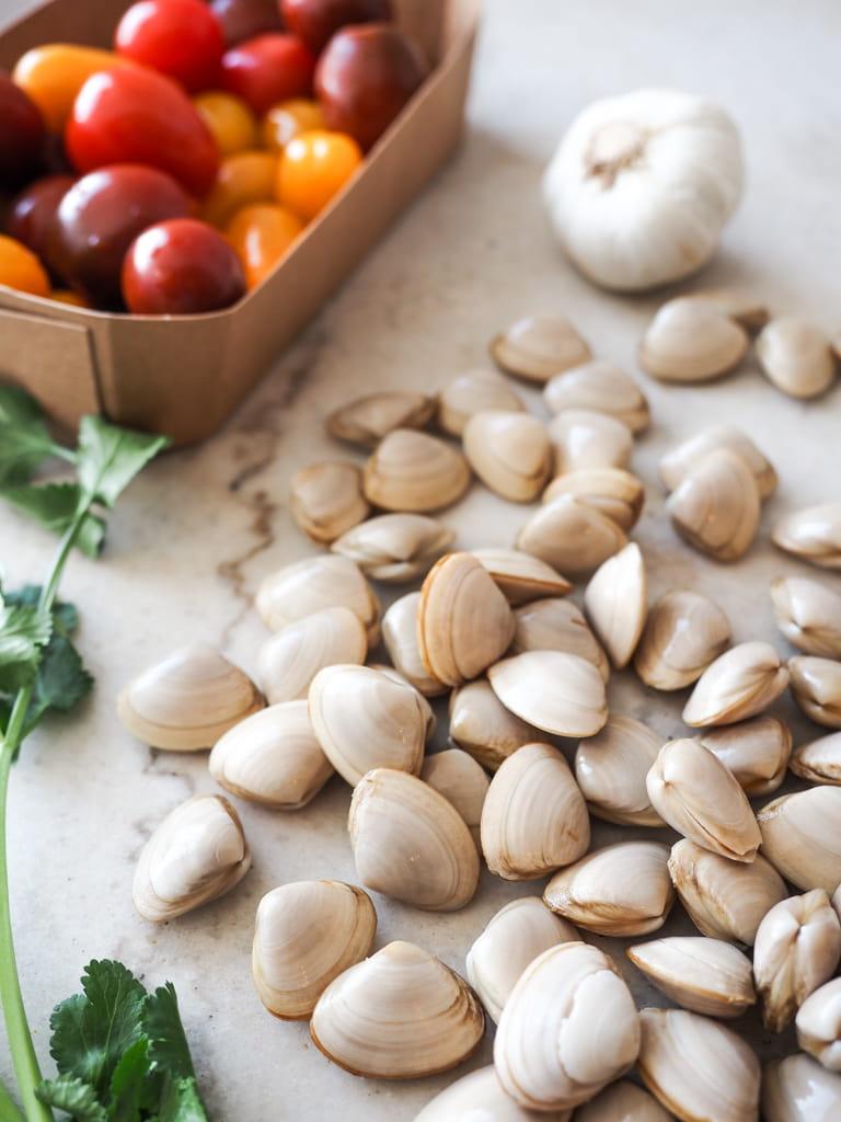 Clam Pasta Ingredients