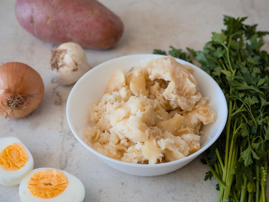 Bacalhau á Gomes de Sá Ingredients