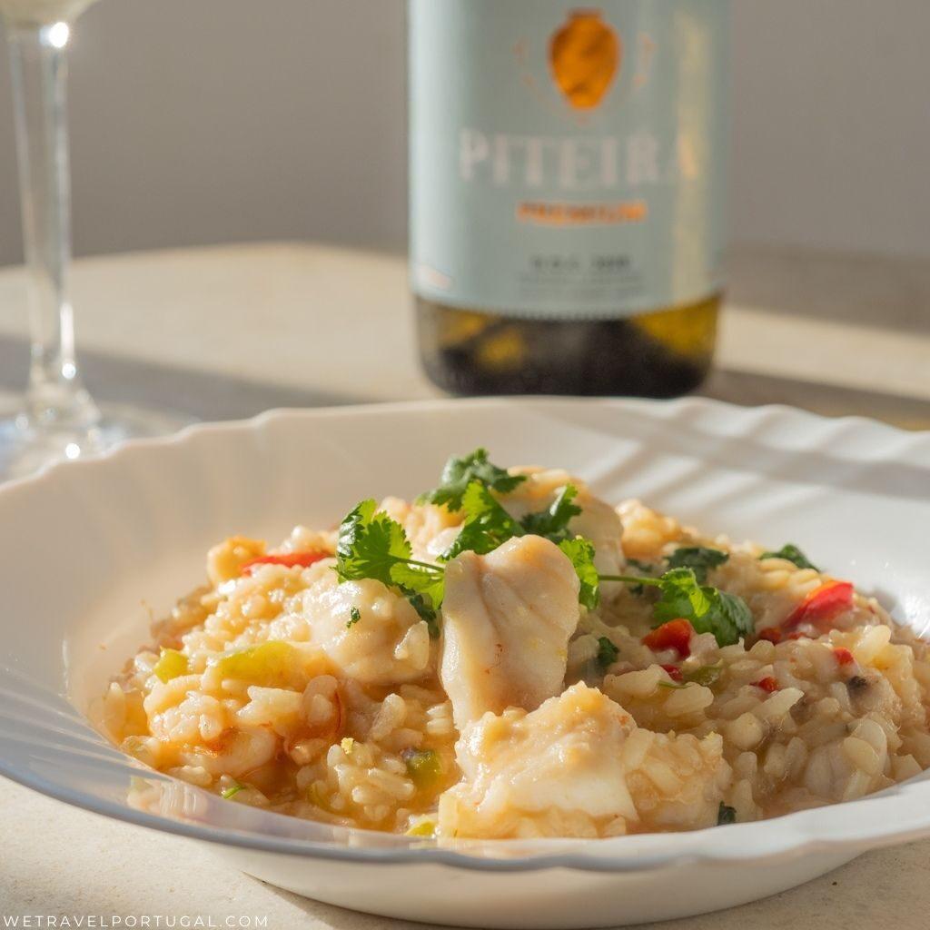 Monkfish rice recipe