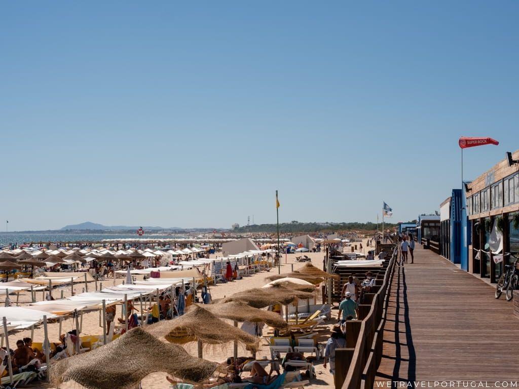 Monte Gordo Boardwalk