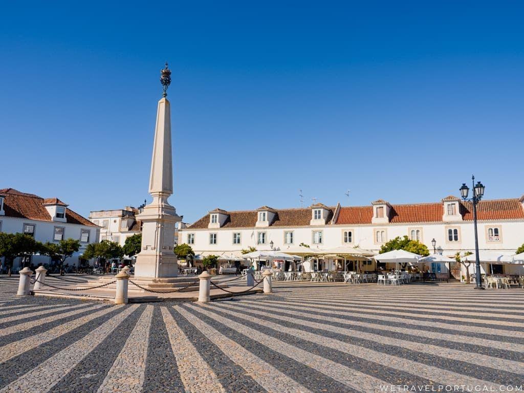 Praça Marquês de Pombal - Vila Real de Santo António