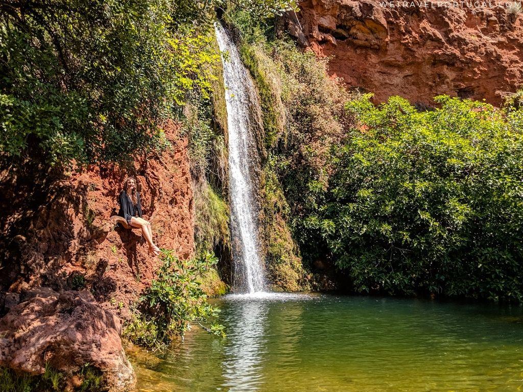 Queda do Vigario Waterfall